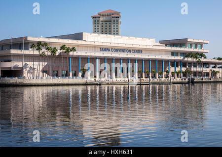 Convention Center, Tampa, Florida, USA, close up - Stock Image