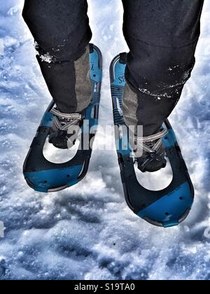 Snowshoes - Stock Image