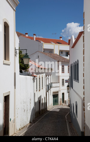 Portugal, Algarve, Monchique, Backstreet - Stock Image