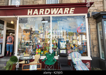 A hardware store in Barnard Castle, County Durham, UK. - Stock Image