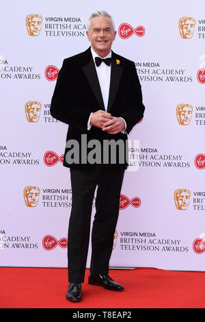 LONDON, UK. May 12, 2019: Huw Edwards arriving for the BAFTA TV Awards 2019 at the Royal Festival Hall, London. Picture: Steve Vas/Featureflash - Stock Image