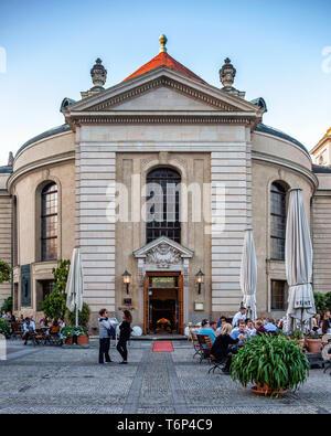 Berlin, Refugium restauarant in historic building on the Gendarmenmarkt  serves German cuisine - Stock Image