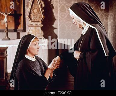 JULIE ANDREWS, PEGGY WOOD, THE SOUND OF MUSIC, 1965 - Stock Image