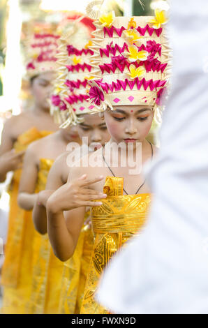 Rejang Dance in Bali - Stock Image