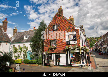 Lewes Cliffe High Street - Stock Image