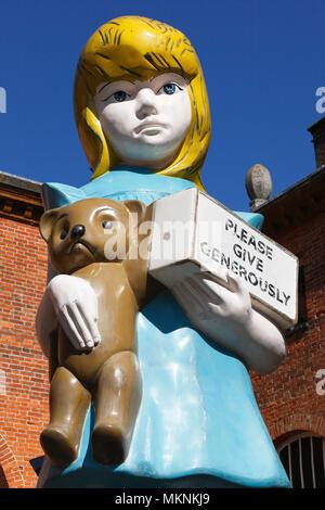 Damien Hirst's sculptures on display at Houghton Hall, Norfolk, UK. - Stock Image