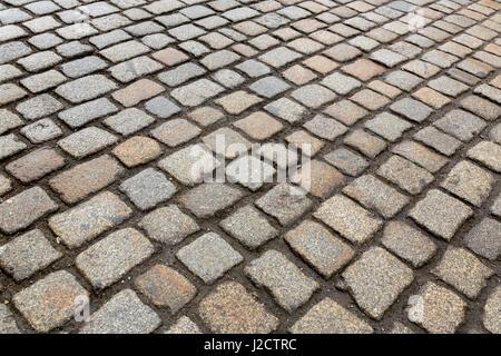Europe, Germany, Dresden. Close-up up cobblestones. Credit as: Wendy Kaveney / Jaynes Gallery / DanitaDelimont.com - Stock Image