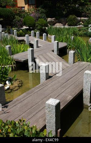 The Japanese Garden, Monaco, Cote D'azure, South of France. - Stock Image