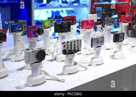 Cameras in supermarket - Stock Image