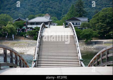 Kintai Bridge, Iwakuni, Japan. - Stock Image