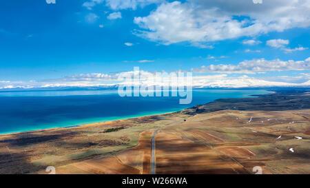 Sevan Lake National Park, taken in April 2019rn' taken in hdr - Stock Image