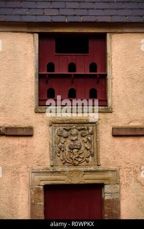 17th.Century Doocote (detail). Dumfries House, Cumnock, East Ayrshire, Scotland, Unired Kingdom, Europe. - Stock Image