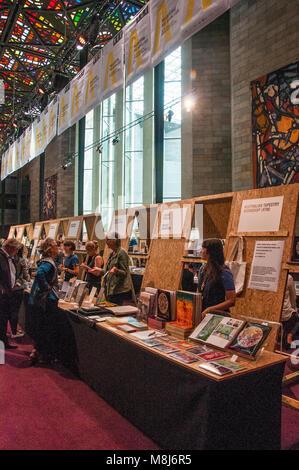 Melbourne Art Book Fair, March 2018, 'bringing together creative emerging and established publishers, artists - Stock Image