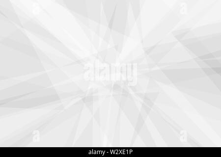 Abstract white triangle background modern shape texture - Stock Image