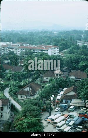 View upon part of the city; Kuala Lumpur, Malaysia. - Stock Image