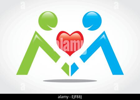 Vector People - Stock Image