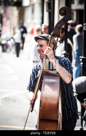 New Orleans Street Performers - Stock Image