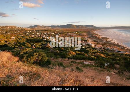 south africa viewpoint chapmans peak drive coastline - Stock Image