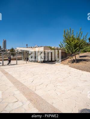 Israel, Jerusalem - 26 September 2018: Gazelle valley park - Pri har valley - Stock Image