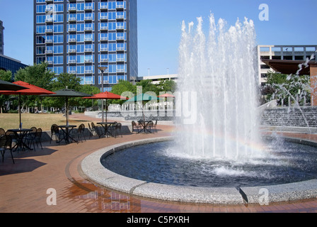 City Park in Greensboro, North Carolina, NC - Stock Image