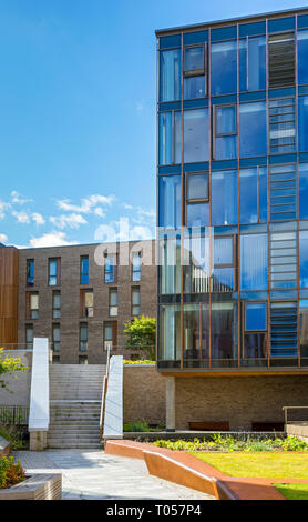 O'Shea North buildings (student accomodation), University of Edinburgh.  Off Canongate, Edinburgh, Scotland, UK - Stock Image