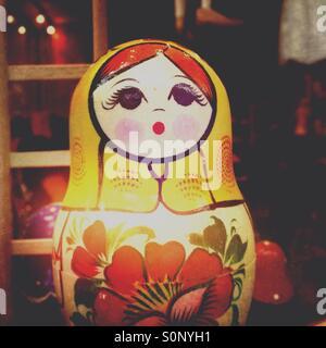 Babushka Russian doll - Stock Image