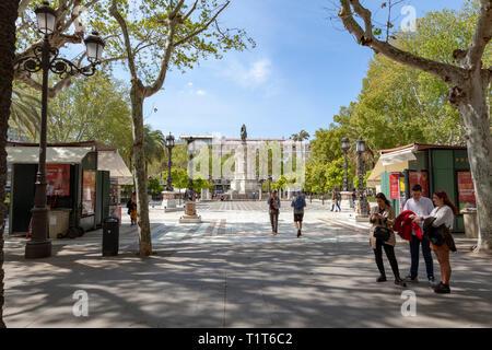 Parque de María Luisa - Stock Image