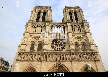 Notre-Dame de Paris cathedral. - Stock Image