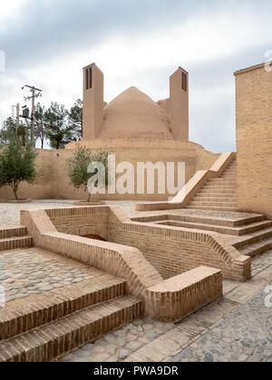 Kelar Ab-Anbar cistern, Meybod, Iran - Stock Image