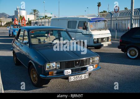 1975 Renault 12. Retro Málaga 2019. Spain. - Stock Image