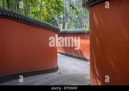 Wuhou Memorial Temple, Martial Marquis, Chengdu, Sichuan Province, China - Stock Image