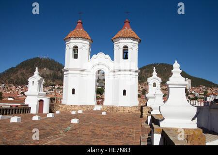 San Felipe Neri in Sucre, Bolivia - Stock Image