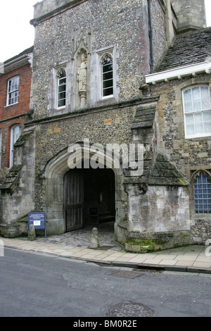 Winchester College, Winchester, Hampshire, UK. - Stock Image