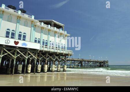Daytona Beach Pier. Daytona Beach, Florida, USA - Stock Image