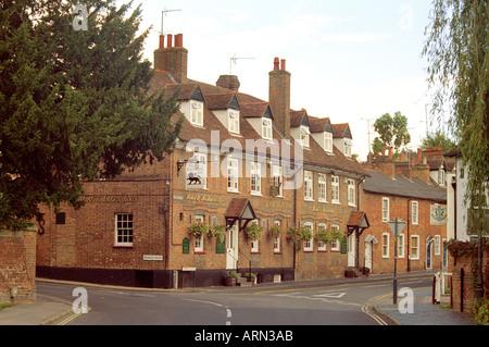 The Black Lion Inn St Albans Hertfordshire - Stock Image