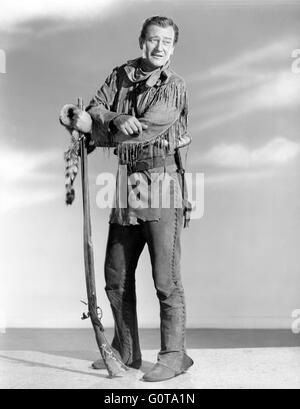John Wayne / The Fighting Kentuckian / 1949 directed by George Waggner  (Republic Pictures) - Stock Image