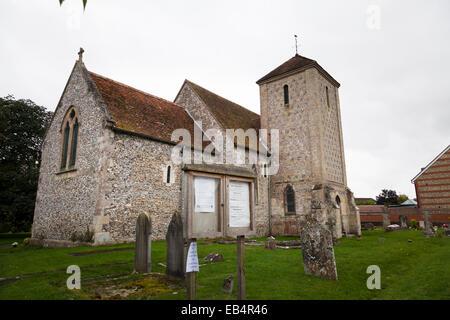 Saint George Church West Harnham Salisbury - Stock Image