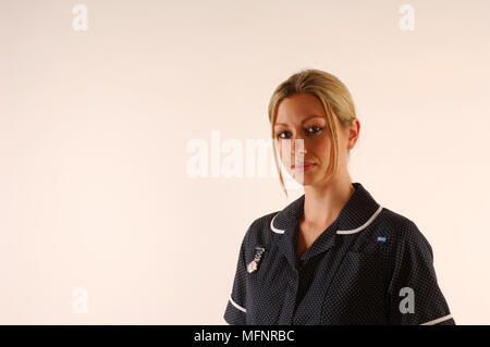 Staff nurse   Ref: CRB425_10046_100  Compulsory Credit: Synercomm/Photoshot - Stock Image