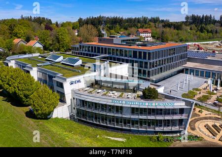 Hospitality management school École hôtelière de Lausanne (EHL), Lausanne, Switzerland - Stock Image