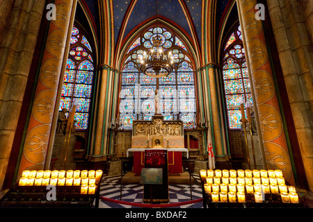 Paris, Notre-Dame Cathedral - Stock Image