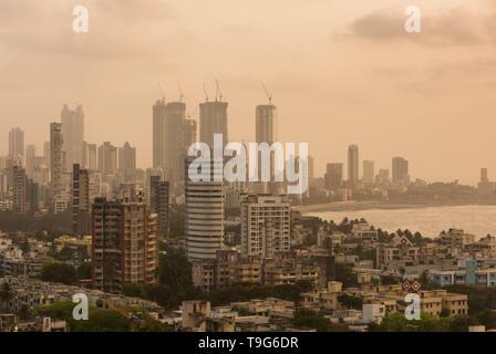Mumbai skyline, India - Stock Image
