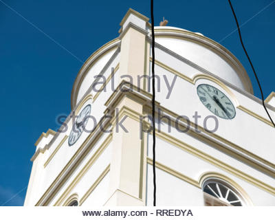 Details of the main Catholic cathedral in Jinotega, Nicaragua - Stock Image