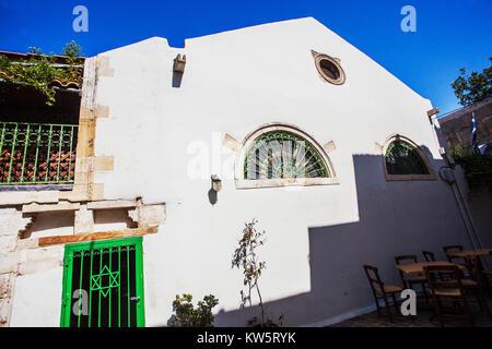 Chania Jewish Quarter, Crete, Greece, Europe - Stock Image