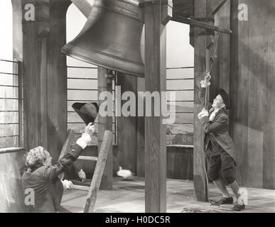 Sounding the bell - Stock Image