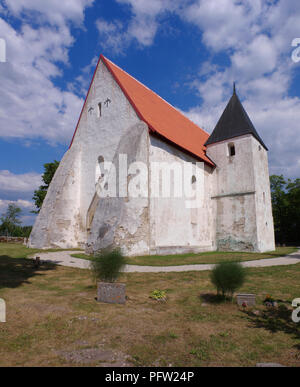 Ridala Church in Lääne County, Estonia - Stock Image