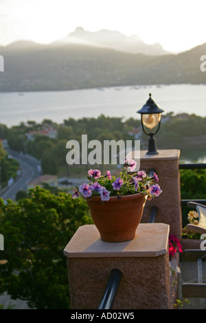 View Over the Bay of Agay Near St Raphael, South of France - Stock Image