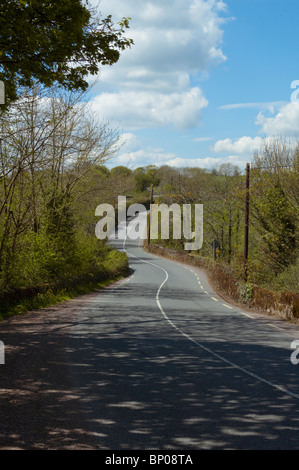 Lonesome Road #49. Irish country road - Stock Image