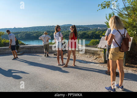 Avignon, FRANCE, People on Street Scenes - Stock Image