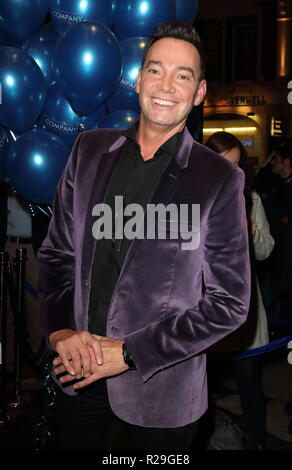 Company - opening VIP night at the Gielgud Theatre, Shaftesbury Avenue, London  Featuring: Craig Revel Horwood Where: London, United Kingdom When: 17 Oct 2018 Credit: WENN.com - Stock Image