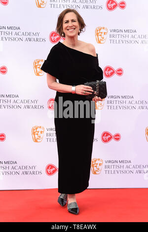 LONDON, UK. May 12, 2019: Kirsty Wark arriving for the BAFTA TV Awards 2019 at the Royal Festival Hall, London. Picture: Steve Vas/Featureflash - Stock Image